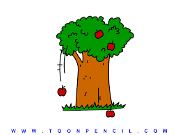 apple tree drawing for kids image mag