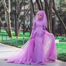 lilac dresses for weddings colorful lilac lace muslim wedding dresses muslin purple wedding