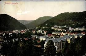 Ak Ansichtskarte Friedrichroda Blick Vom Herzogsweg Ak Friedrichroda Im Thüringer Wald Blick Auf Ortschaft Und Den