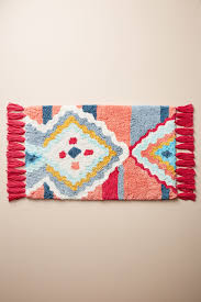 Orange Bathroom Rugs by Bath Mats U0026 Bath Rugs Anthropologie