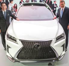 lexus rx or honda crv top tech cars at the 2015 new york auto show extremetech
