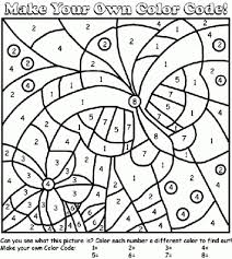 summer color number coloring pages getcoloringpages with the
