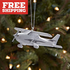 cessna 172 christmas ornament from sporty u0027s pilot shop