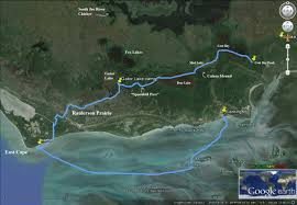 Everglades Florida Map by Go West To East Cape U2013 An Interior Route Via U201cspoonbill Pass U201d And