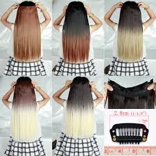 one hair extensions clip in hair extensions one 25 inches 63cm