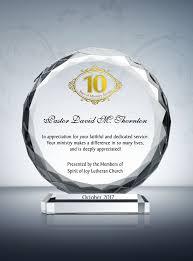 pastor anniversary gift and sle wordings diy awards