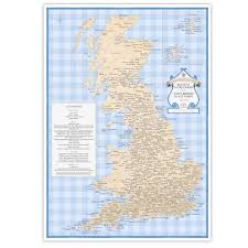 Maps Place The Slightly Overcooked Map Of Tasty British Place Names U2014 St U0026g U0027s