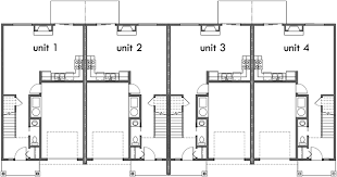 three plex floor plans fourplex house plans 3 bedroom fourplex plans 2 story fourplex