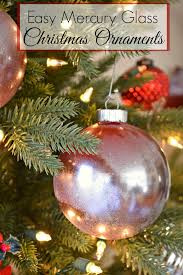 easy mercury glass ornaments