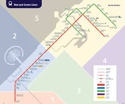 Metro Line Map by Map Of Dubai Metro U0026 Subway Rta Network Dubai Pinterest