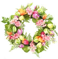 tulip wreath tulip wreath
