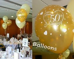 50th birthday balloons decorations image inspiration cake and