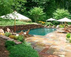 exterior garden design with backyard landscaping plans how oasis