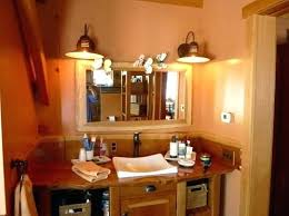 Rustic Bathroom Lighting Ideas Rustic Bathroom Light Fixtures Rustic Bathroom Lighting Ideas