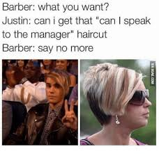can you get a haircut where you can wear it as a bob and flipped 25 best memes about may i speak to a manager haircut may i