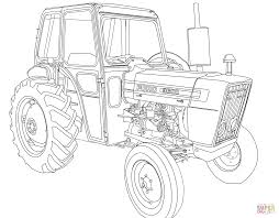 tractor ford 3600 coloring page free printable coloring pages