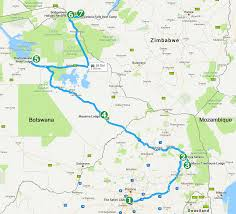 Map A Trip Safari With Us How To Plan A Trip To Africa Start With Prioritzing