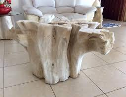 coffee table attractive wood stump coffee table design ideas tree