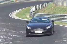 2018 aston martin db11 v aston martin db11 spied testing possible amg sourced turbo v 8 in