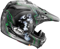 helmets for motocross arai new 2017 mx vx pro4 justin barcia le green frost motocross