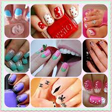 nail art simple nail art designs with polish easy for short nails