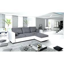 canap blanc gris canape gris et blanc fabulous superbe canap duangle convertible