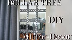 Dollar Tree Curtains Diy Dollar Tree Bling Mirror Wall Art Decor Petalisbless Youtube