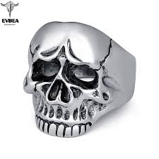 allergy free jewelry men skull jewelry rings for men allergy free rock jewelry non