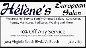 helene u0027s european hair salon 757 340 7165 virginia beach youtube