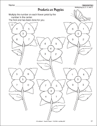 multiplication exercises for grade 4 3rd grade worksheets products on poppies kelpies