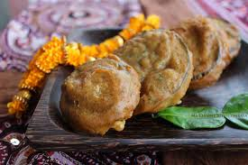 ma cuisine indienne pakoras d aubergine beignets d aubergine à l indienne inde ma