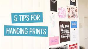 hang prints 5 tips charlimarietv youtube