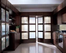 Etched Glass Designs For Kitchen Cabinets Furniture Fascinating Stunning Etched Glass French Doors For Your