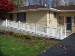 Wheelchair Ramp Handrails Handicap Accessibility The Vinyl Outlet