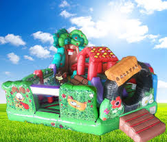 backyard fun bouncing castle that balloons