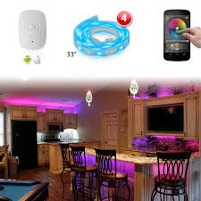 led lighting for home interiors xkglow xk silver app wifi controlled home interior fruniture