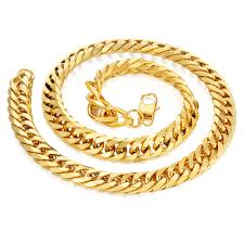 cuban chain necklace gold images 14mm miami curb cuban chain necklace for men gold color thick jpg