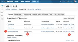 create blueprints learn how to create your own confluence blueprints