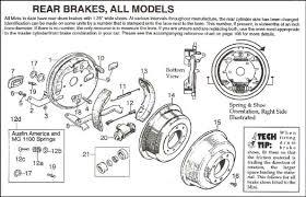diagram brakes rear
