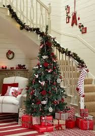 xmas home decorations 100 awesome christmas stairs decoration ideas digsdigs
