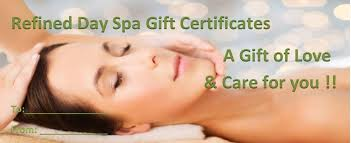 custom gift certificates best day spa gift card gift certificates and spa packages ideas