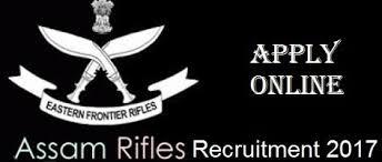 list of assam rifles assam rifles gd havildar recruitment 2017 general duty havildar