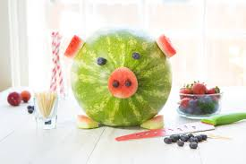 watermelon emoji how to make a watermelon pig good cook good cook