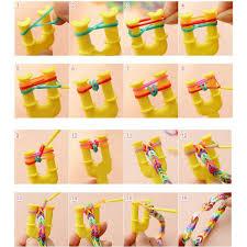 diy bracelet rubber bands images Cheap diy rubber band bracelet loom bracelet refills children toy jpg