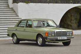 mercedes benz 240d w123 de 1978 youtube
