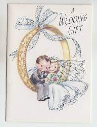 wedding wishes for the and groom vintage and groom sitting on ring wedding gift greeting card
