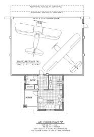 airplane hanger with living space floor plan florida home