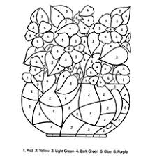 25 free printable flowers coloring pages