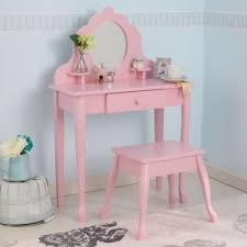 Pink Vanity Set Girls Wooden Vanity Set Foter