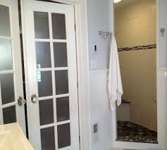 bathroom walk in shower remodeling syracuse cny french doors in the bedroom serve as an entryway to the master bathroom and walk